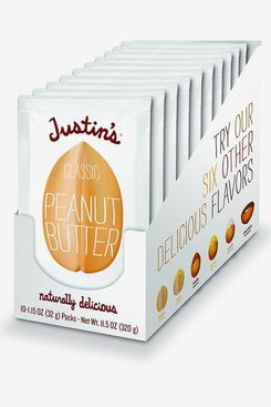 Justin's Classic Peanut Butter Squeeze Packs, 10-Pack