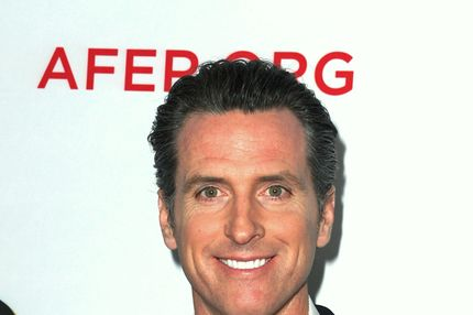"Lieutenant Governor of California Gavin Newsom attends the one-night reading of ""8"" presented by The American Foundation For Equal Rights & Broadway Impact at The Wilshire Ebell Theatre on March 3, 2012 in Los Angeles, California."