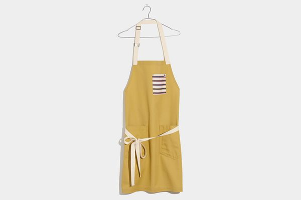 Madewell x Hedley & Bennett Striped Pocket Apron