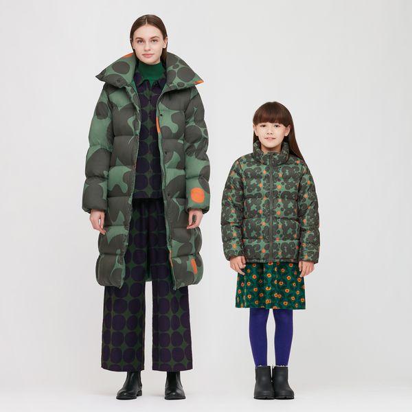 Uniqlo x Marimekko Ultra Light Down Cocoon Coat