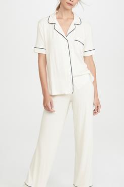 Eberjey Short-Sleeved Pajama Set