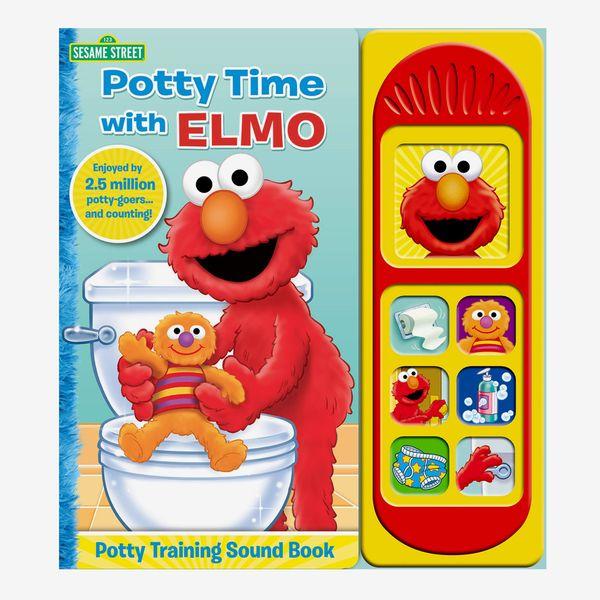 """Potty Time with Elmo"" Potty Training Sound Book"