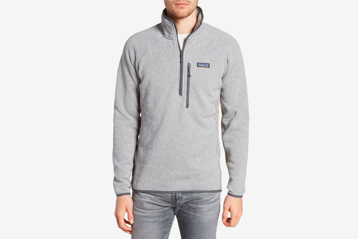 Patagonia Better Sweater Performance Slim Quarter-Zip Pullover