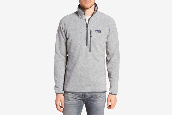 Patagonia Better Sweater Performance Slim Quarter-Zip Pullover