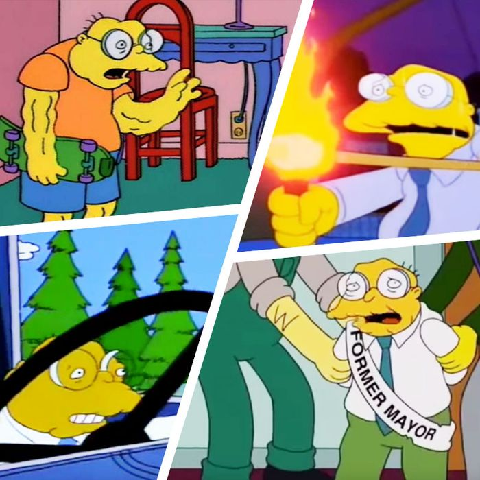 The Enigma Of The Simpsons Hans Moleman