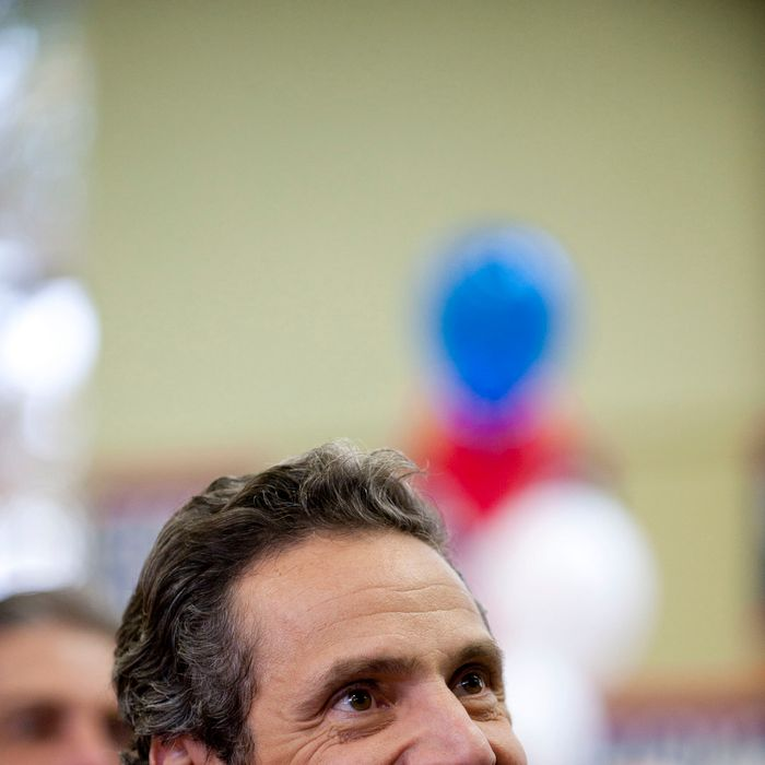 Andrew Cuomo, the democratic candidate for New York Governor, appeared at a campaign event at the Local 66 Laborers Hall in Melville, NY October 29, 2010.<P>Pictured: Andrew Cuomo<P><B>Ref: SPL202393 291010 </B><BR/>Picture by: Gordon M. Grant / Splash News<BR/></P><P><B>Splash News and Pictures</B><BR/>Los Angeles:	310-821-2666<BR/>New York:	212-619-2666<BR/>London:	870-934-2666<BR/>photodesk@splashnews.com<BR/></P>