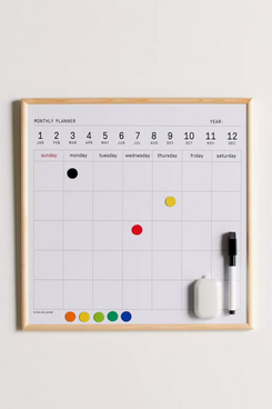 Kikkerland Design Calendar Dry-Erase Board