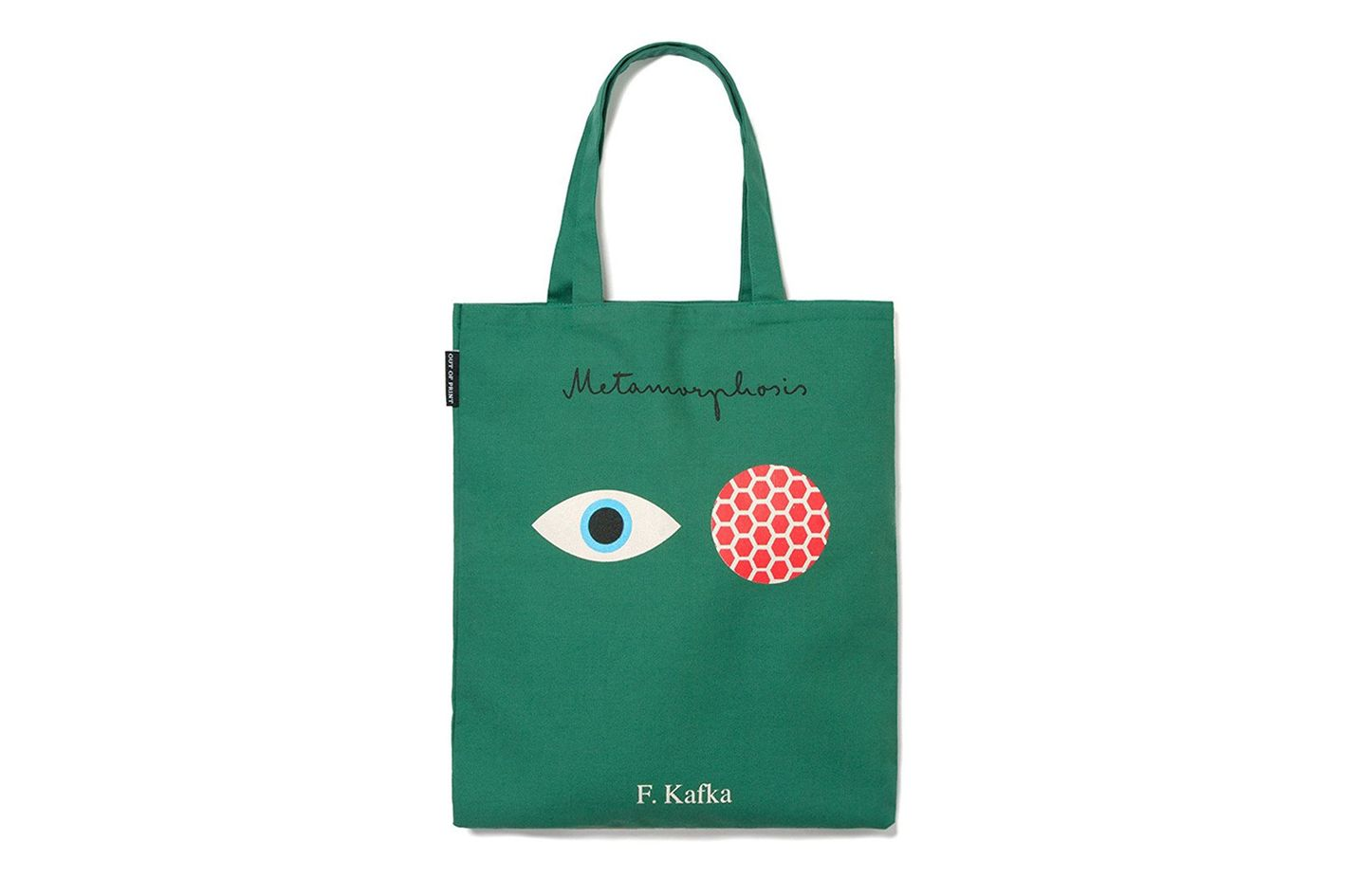 Out of Print Franz Kafka Tote