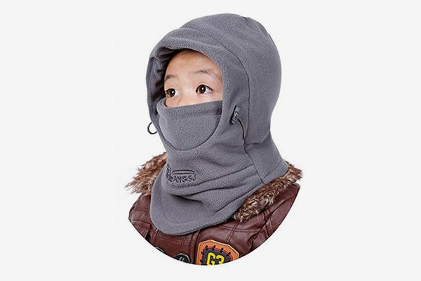 ZZLAY Children's Balaclavas Hat Thick Thermal Windproof Ski Cycling Face Mask