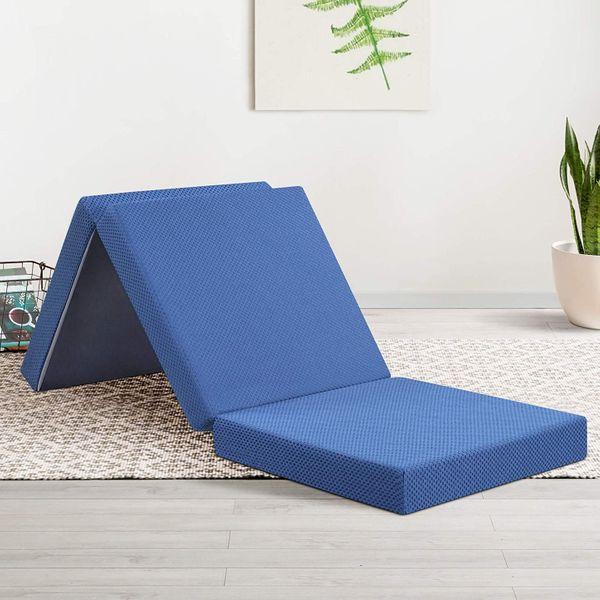 Olee Sleep Tri-Folding Memory Foam Topper