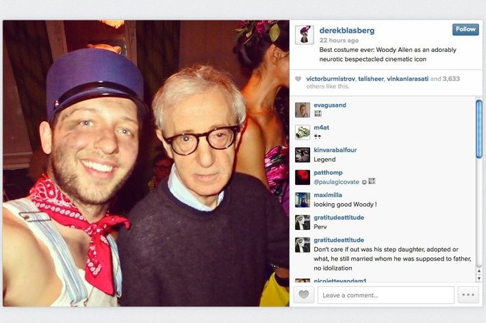 sc 1 st  NYMag & Woody Allen Went As Woody Allen for Halloween and He Nailed It