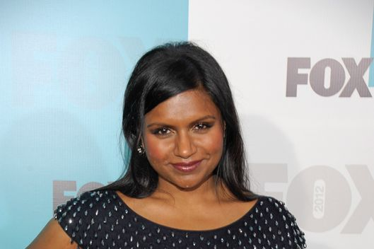 Mindy Kaling attends attends the Fox 2012 Programming Presentation Post-Show Party at Wollman Rink - Central Park on May 14, 2012 in New York City.