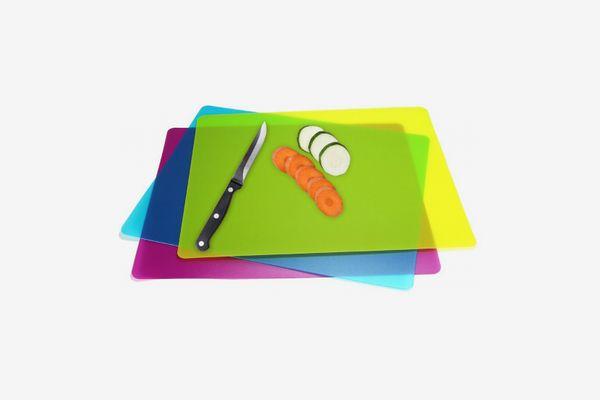 Flexible Plastic Cutting Board Mats Set