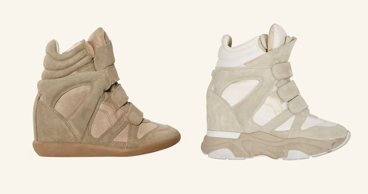 Are Isabel Marant Wedge Sneakers Really Back??