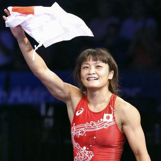 Japan's Icho claims 10th world wrestling title