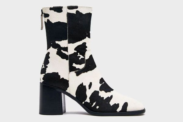 Intentionally Blank PG Boot in Cow Print