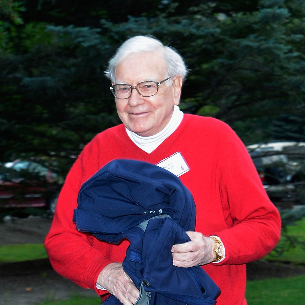 Warren Buffett, chairman and CEO of Berkshire Hathaway, attends the Allen & Company Sun Valley Conference on July 13, 2012, in Sun Valley, Idaho. The conference has been hosted annually by the investment firm Allen & Company each July since 1983. The conference is typically attended by many of the world's most powerful media executives.