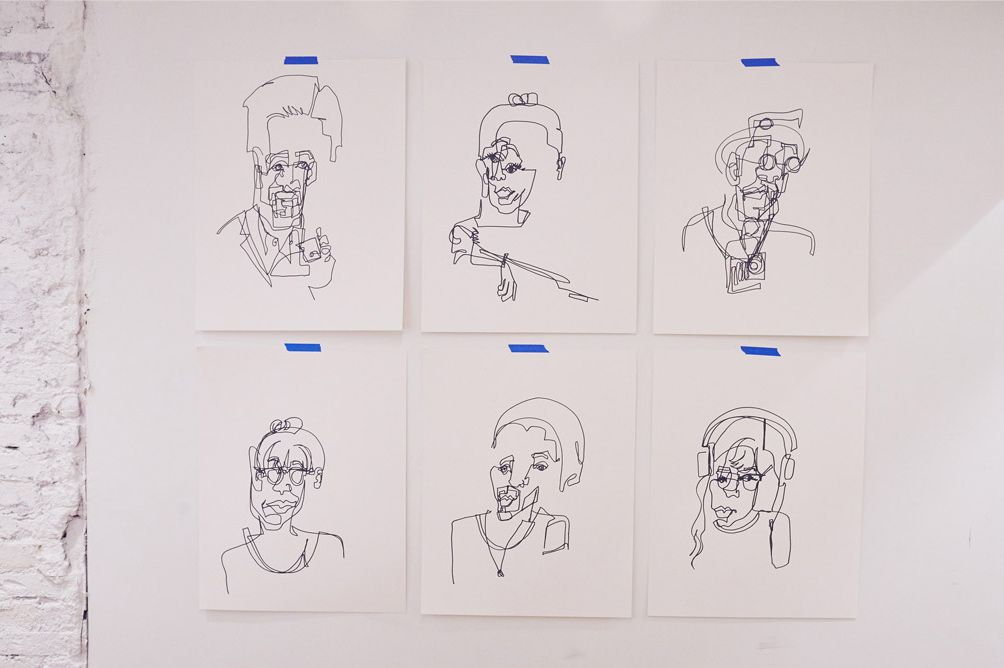 Different Types Of Lines In Art Drawing : How artists interpreted inspiring concept the cut