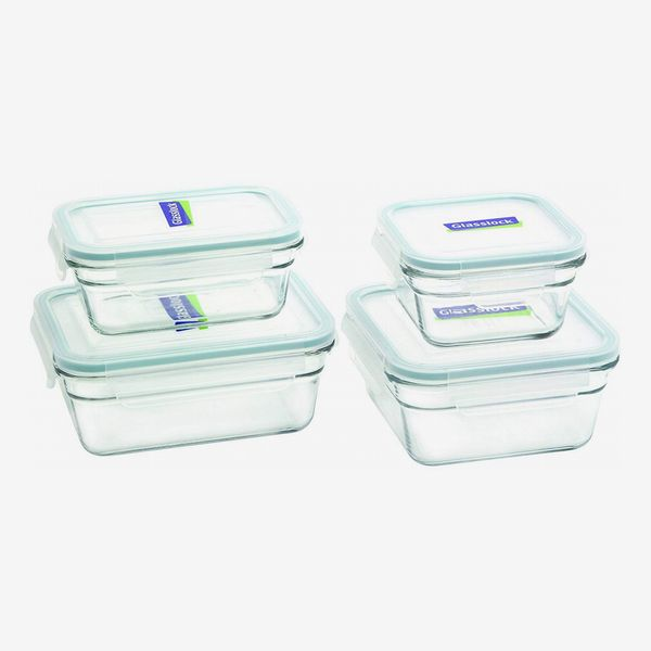 Glasslock Assorted Oven-Safe Container Set, 4-Piece