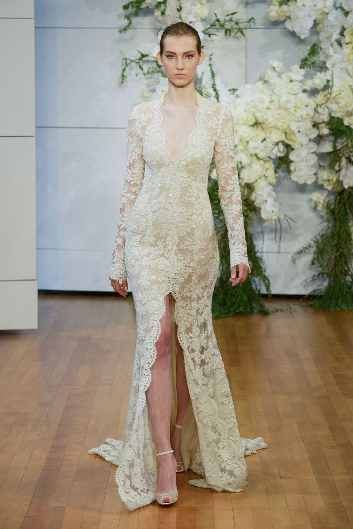 e3f92855d31 In the past few years designers have loved to use lace in a pared down
