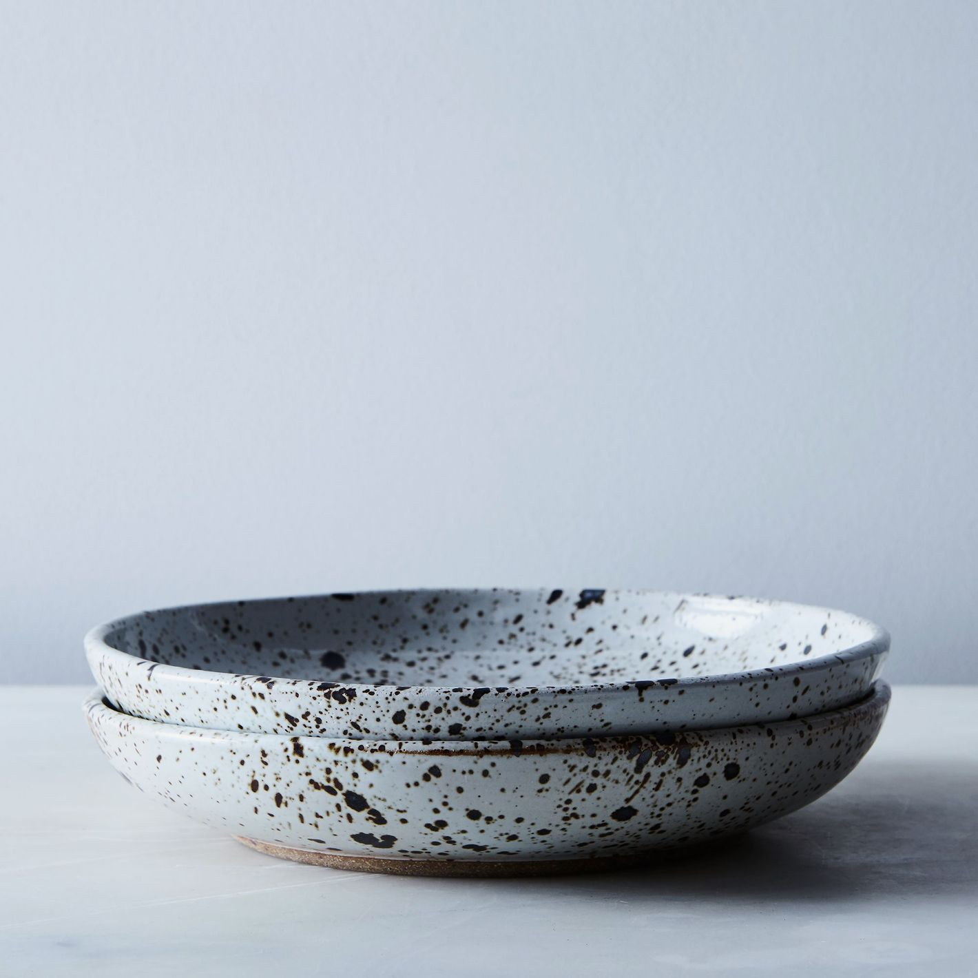 Handmade Ceramic Dinnerware u2014 Salad Bowl Speckled & 21 Best Basic-But-Cool Ceramic Plates and Tableware u2014 2018