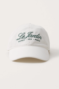 Abercrombie & Fitch Embroidered Baseball Cap