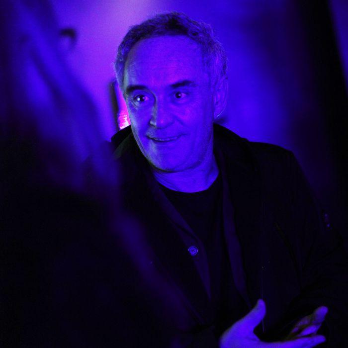 Ferran Adrià, taking in the sights.