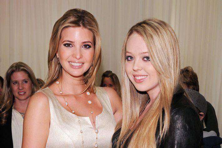 Ivanka and Tiffany Trump.