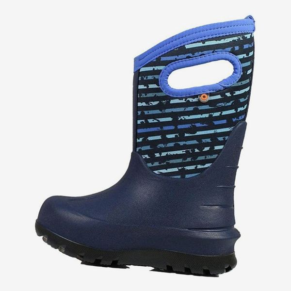 Bogs Kid's Classic Spot Stripes Insulated Boots