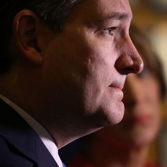 GOP Presidential Candidate Ted Cruz Campaigns In Indiana