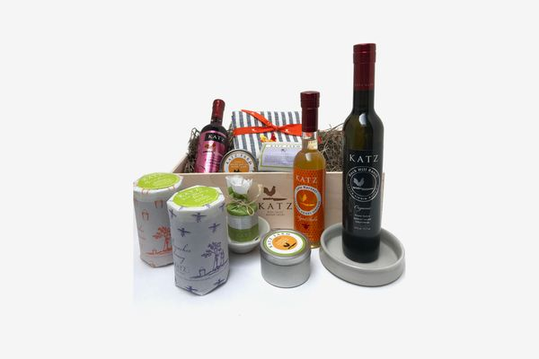 Katz Farm Gift Box of Three Varietal Honeys