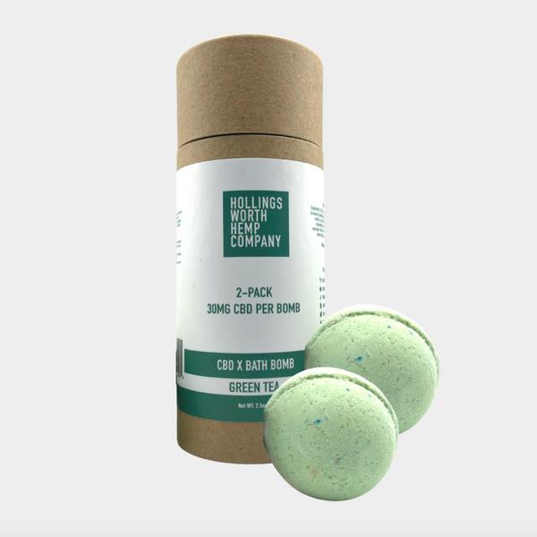 Hollingsworth Hemp CBD Bath Bombs, 30 mg