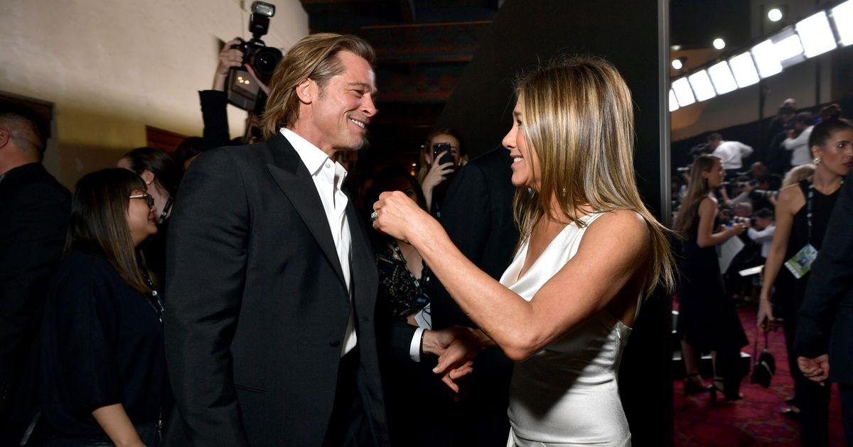 Brad Pitt Reunites With Jen Aniston… for Dane Cook's Fast Times at Ridgemont High Charity Reading thumbnail