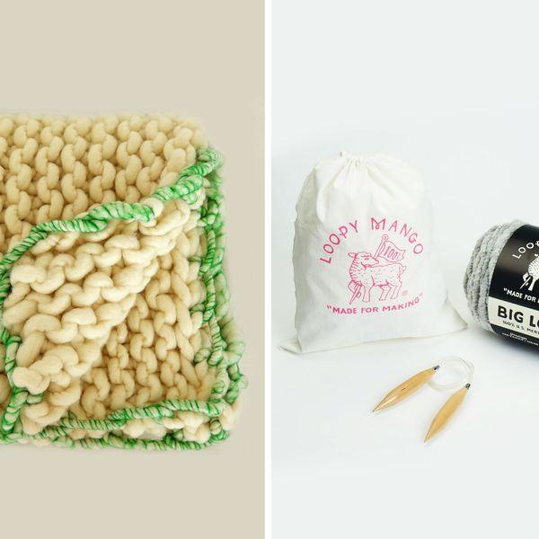 Loopy Mango Little Loopy Blanket Kit
