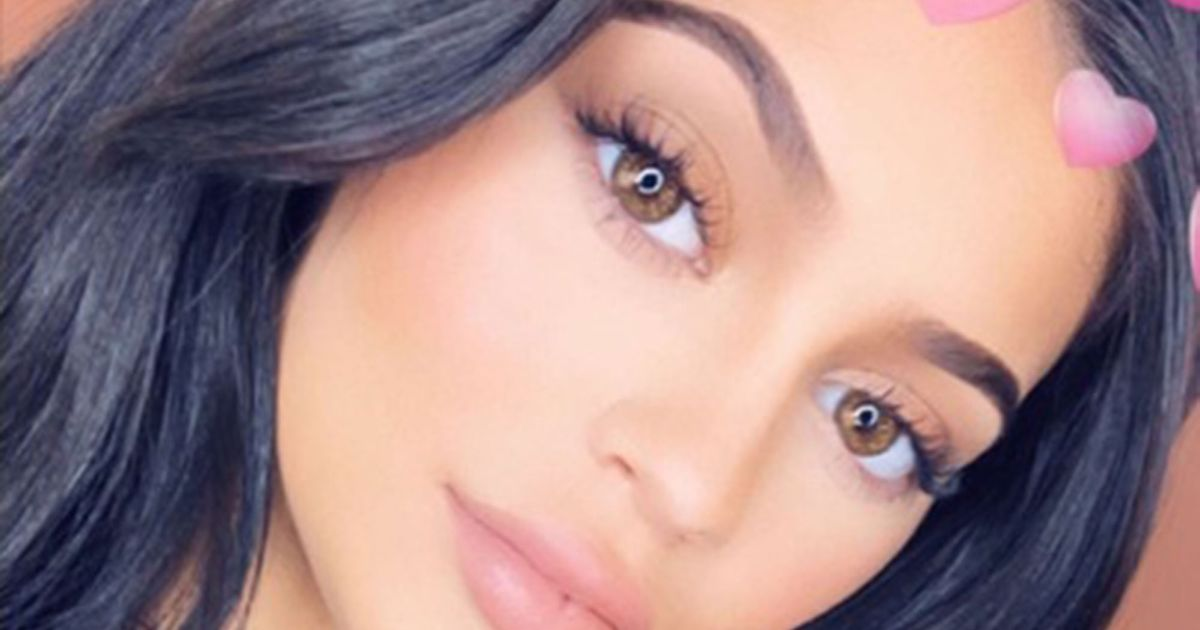 Kylie Jenner's New Instagram Filter Lets You Try On Lipstick