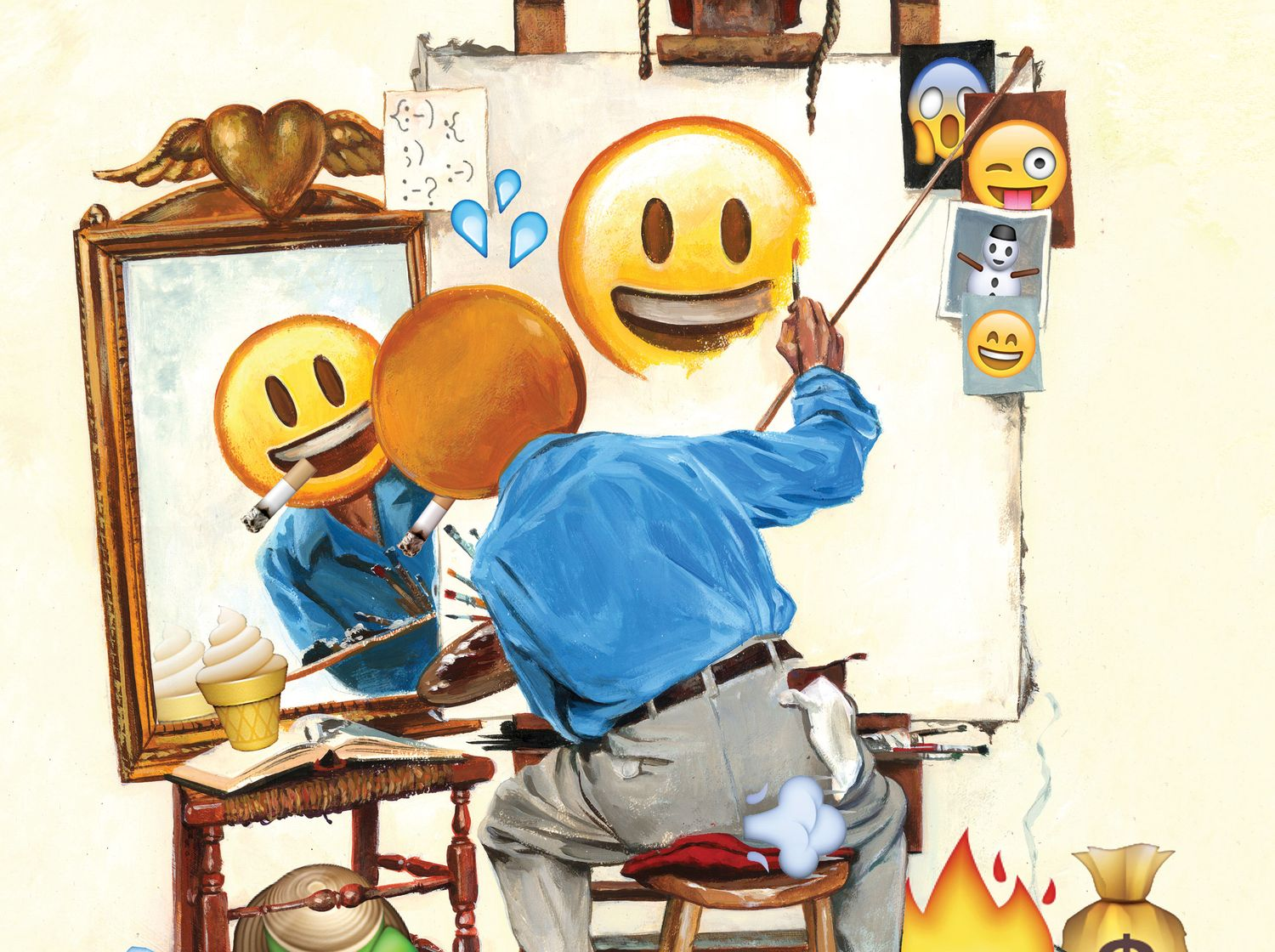 The Rapid Evolution Of Emoji A Wordless Tongue Nymag