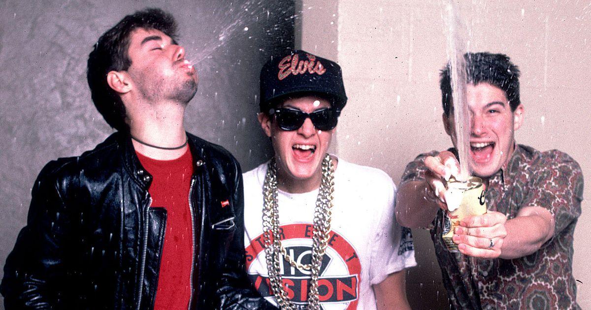 Beastie Boys Christmas.A Brief Comedy History Of The Beastie Boys