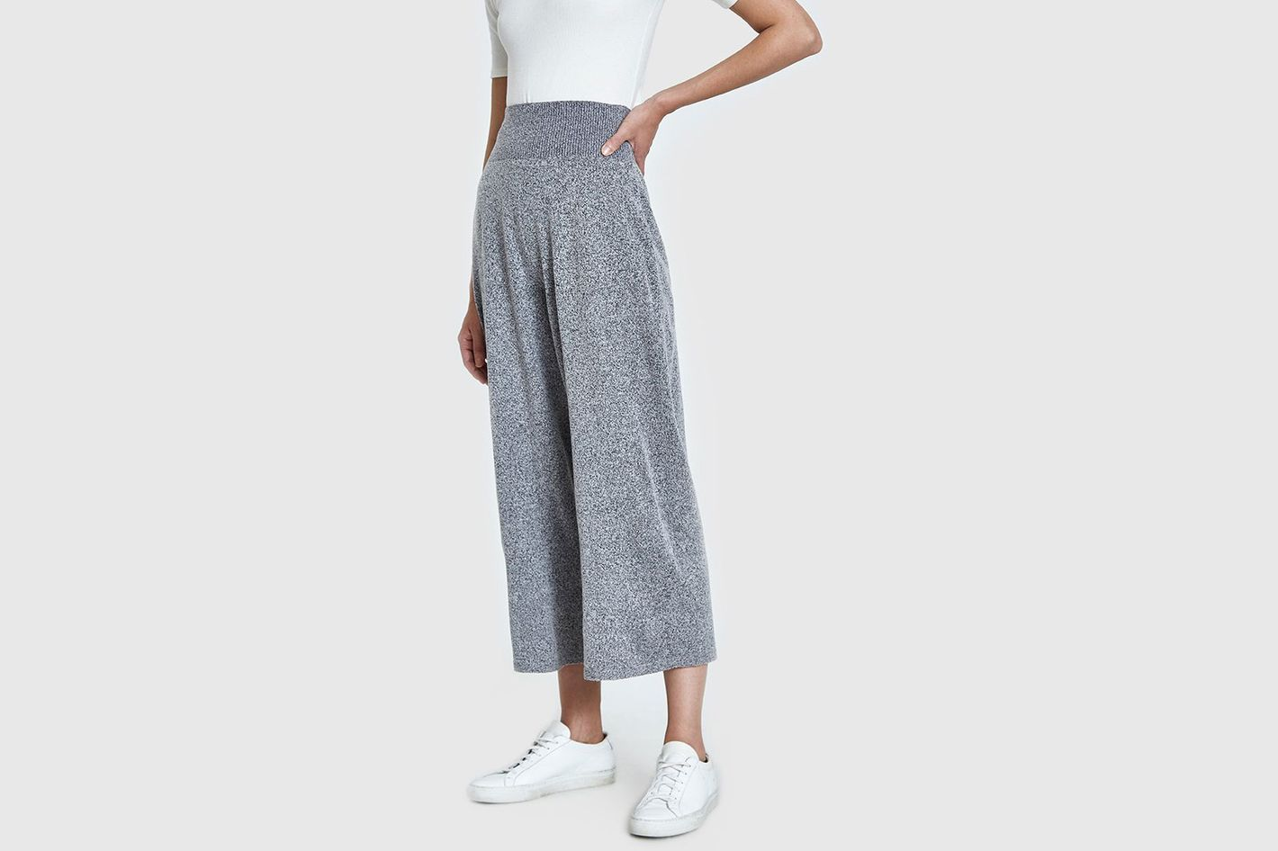 Sori High Waist Pants in Grey