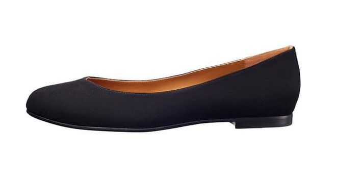 Margaux, the Classic Black Flat