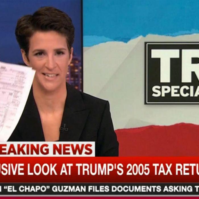 Rachel Maddow's Trump Tax Reveal Got Insane Ratings