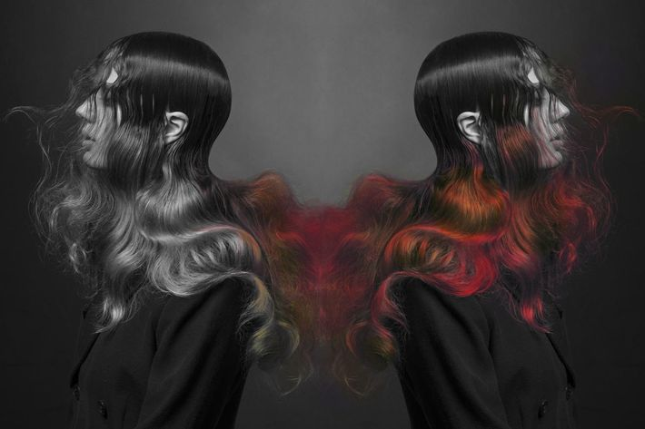World's first color-changing hair dye reacts to your environment