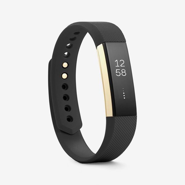 black gold fitbit alta fitness tracker special edition - strategist fitness trackers on sale