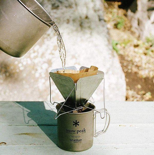 Snow Peak Collapsible Folding Coffee Dripper