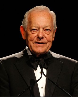 NEW YORK - JUNE 03: Journalist Bob Schieffer speaks on stage during the 34th Annual AWRT Gracie Awards Gala at The New York Marriott Marquis on June 3, 2009 in New York City. (Photo by Jemal Countess/Getty Images for AWRT) *** Local Caption *** Bob Schieffer