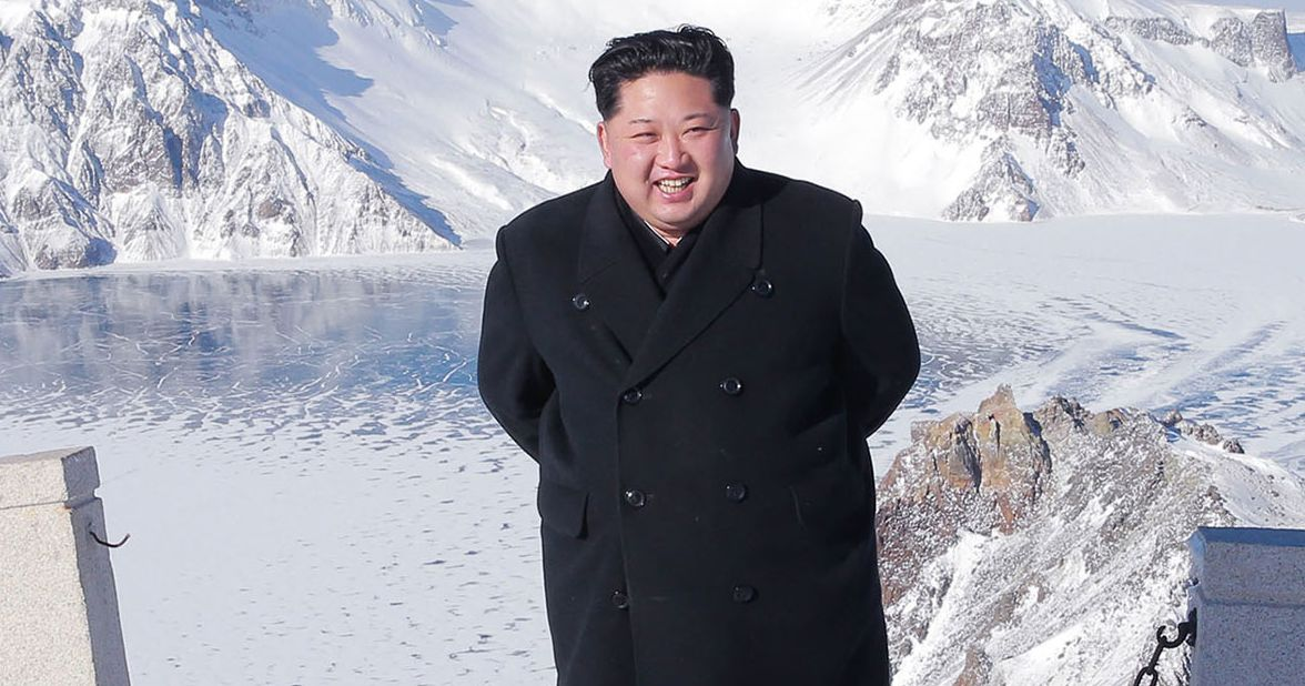 6aae94d89 Kim Jong-un s Shoes Sure Are Shiny for Someone Who Just  Climbed  a Mountain