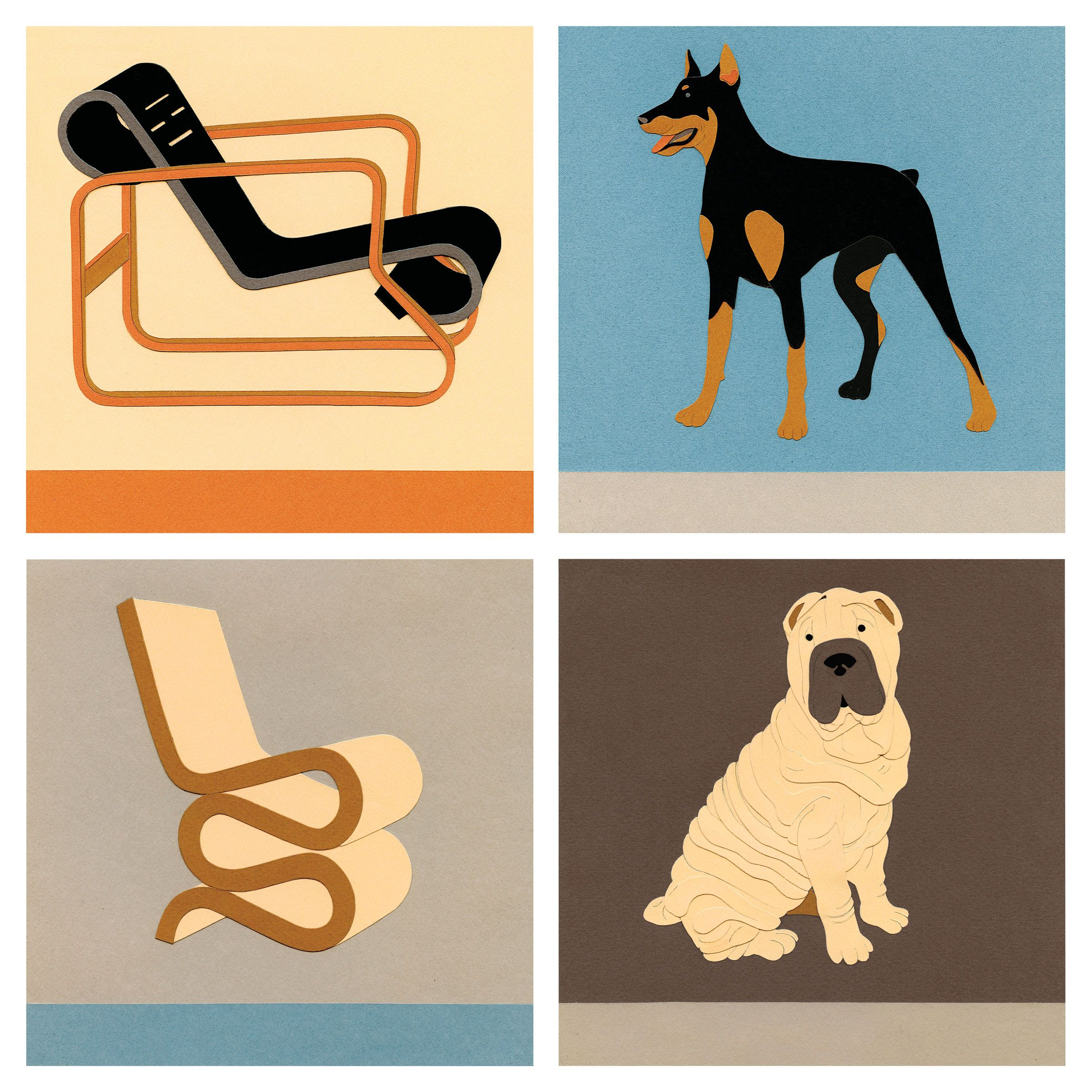 Mid Century Modern Pups Gift Guide 2015 Home Goods