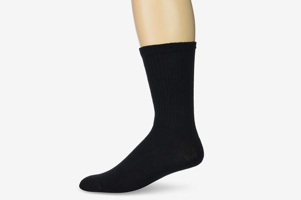 Gildan Men's Stretch Cotton Crew Socks