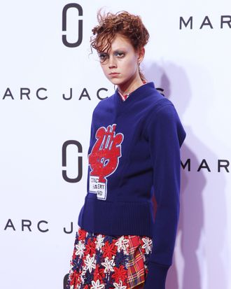 A look from Thursday's Marc Jacobs show.