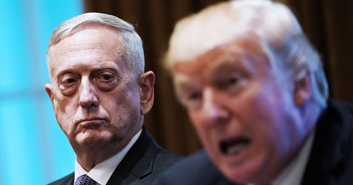 Mattis Criticizes Trump Without Using His Name