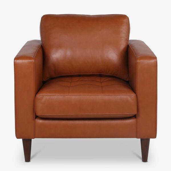 Apt2B Jensen Leather Chair
